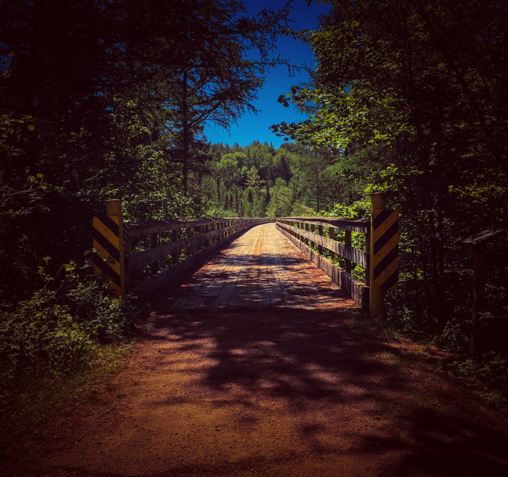 Trestle on the Bearskin State Trail