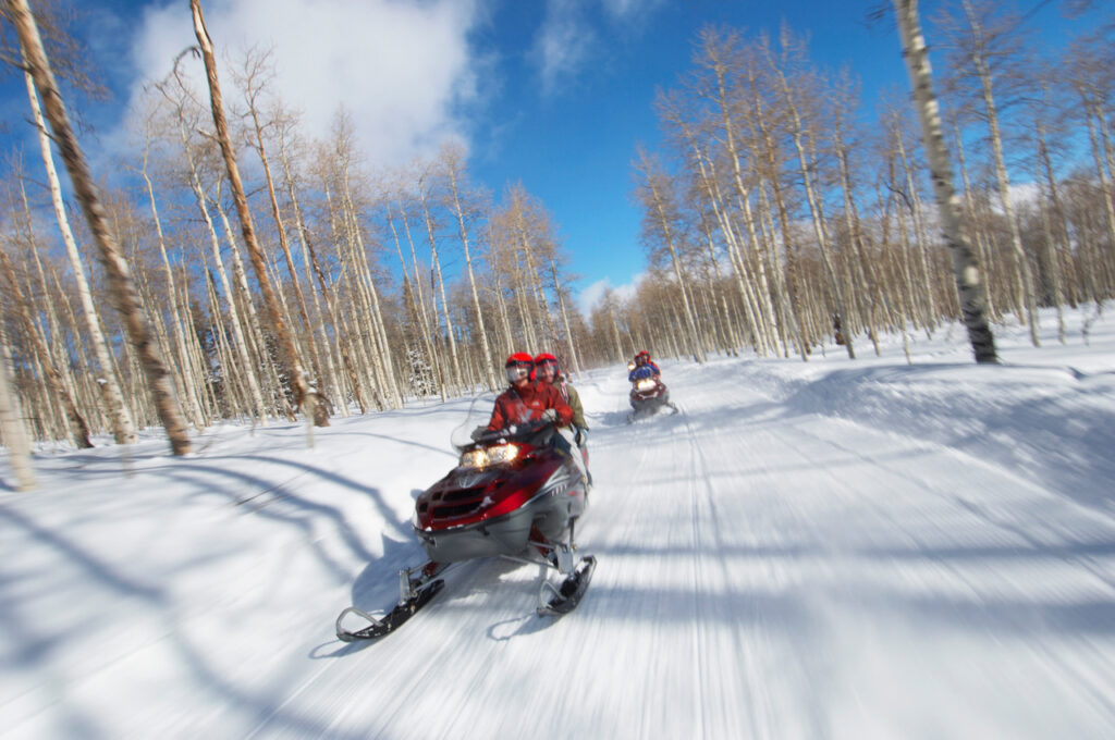 Snowmobiling in Oconto County WI