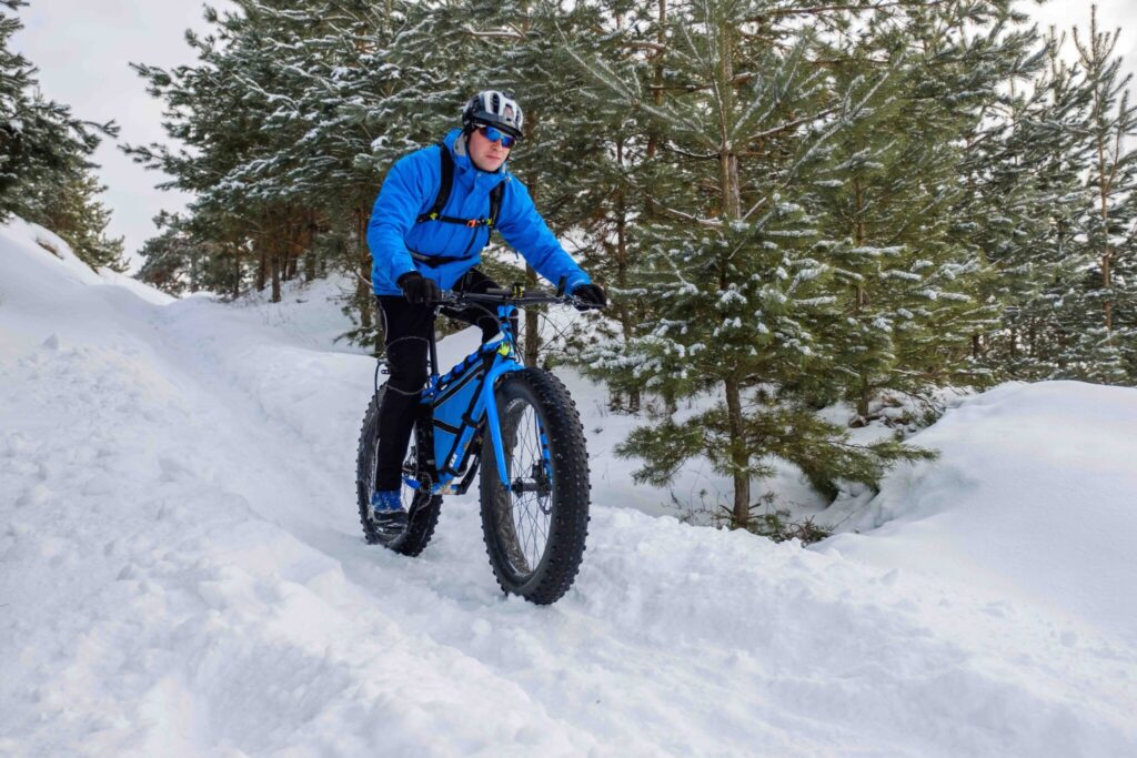 Fat Tire Bicyclist – Ironbull Last Hurrah