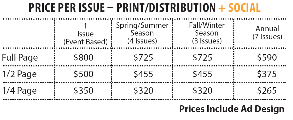 Up North Action Print/Distribution + Social Prices